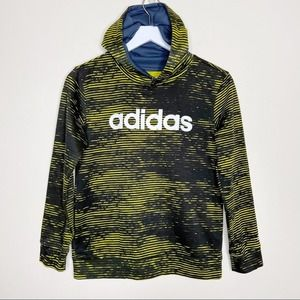Adidas Boys Hoodie Size Medium 10/12